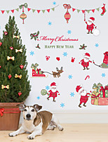 Christmas / Fashion / Holiday Wall Stickers Plane Wall Stickers / Mirror Wall Stickers Decorative Wall StickersPVC