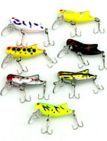 1 pcs Fishing Lures Hard Bait Random Colors 4.1 g Ounce mm inch,Hard Plastic Bait Casting
