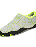 Unisexe-Extérieure / Sport-Noir / Jaune / Rouge / Gris / Orange-Talon Plat-Confort / Plastique-Chaussures d'Athlétisme-Tissu