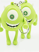 Monster University Don'T Wear A Hat Big Eye Wang LED Luminous Key Creative Stainless Steel Yellow Of One BS - 602