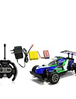 Car Racing 566-107 110 Brush Electric RC Car / 2.4G Red / Blue Ready-To-Go Remote Control Car