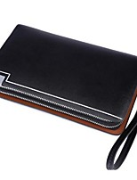 Men Cowhide Casual Clutch