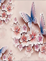 JAMMORY Art Deco / 3D Wallpaper For Home Contemporary Wall Covering  Canvas Material Adhesive required Mural