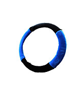 (Note * Black Blue 38cm) Car Steering Wheel Cover