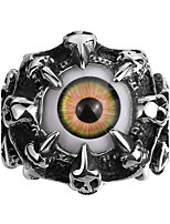 New Design Retro Punk Style Men's Stainless Steel Ring Eyes Super Cool Street Explosion Models High Quality Gothic Christmas Gifts