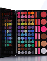 78 Lidschattenpalette Trocken / Mineral Lidschatten-Palette Puder Set Alltag Make-up / Halloween Make-up / Party Make-up
