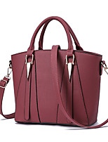 M.Plus Women Fashion PU/Faux Leather Messenger/Shoulder Crossbody Bag/Handbag Tote