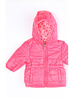 Girl Casual/Daily Solid Down & Cotton Padded,Cotton Winter