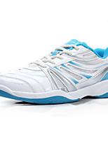 Frauen Laufsportschuhe Komfort pu / Tüll sportliche Plattform Spitzen-up blau Badminton fallen