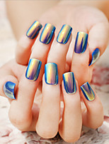 Singular Shells Bright Color Fake Nails Patch Nail To Be Bestowed Favor On Newly 1Set