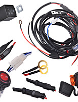 Kawell 2 pernas cablagem incluem interruptor kit suppot 300w conduziu a luz do trabalho levou cablagem barra de luz e kit interruptor