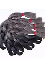 Box Braids crochet braid Box Braids ombre Hair kanekalon 24inch 3pcs Synthetic Braiding Hair Extensions