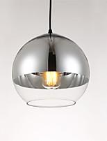 Modern/Comtemporary Electroplated Glass Pendant Lights Dining Room Kitchen Bar Cafe Light Fixture
