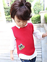 Boy's Casual/Daily Solid VestCotton Winter Blue / Brown / Red