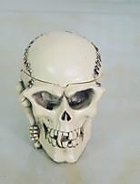 accessoires 1pc Halloween danse ornements de fête tête squelette ornements de cendrier
