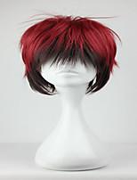 Anime Role Kuroko's Basketball Kagami Taiga 32cm Short Black Red Mixed Man Cosplay Wig