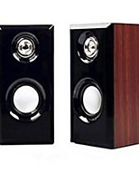 Desktop PC Speaker Mobile Phone Wood USB Multimedia Speaker Car Audio
