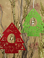 Рождественский праздник партии амулеты фестиваль украшения декора любовь домой привлекательные 2 шт маленький