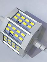 7 R7S LED corn žárovky T 24LED SMD 5730 680LM-800LM lm Teplá bílá / Chladná bílá Ozdobné AC 85-265 V 1 ks