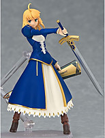 Fate/stay night Saber PVC 15cm Anime Action Figures Model Toys Doll Toy 1pc