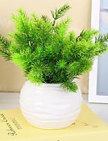 1 1 Филиал Пластик Pастений Букеты на стол Искусственные Цветы 34CM