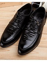 Men's Oxfords Comfort Cowhide Casual Black