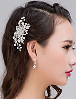 Vrouwen Licht Metaal Helm-Bruiloft / Speciale gelegenheden Haarkammen 1 Stuk