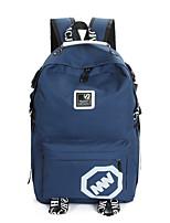 Unisex Nylon Outdoor Travel Bag Blue / Yellow / Black / Fuchsia