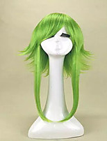 Top Quality  Anime VOCALOID GUMI Camellia Megpoid Anti Alice Cosplay Wig Green Heat Resistant Wig