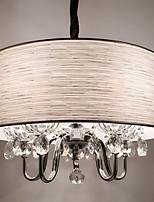 5w Luzes Pingente ,  Contemprâneo / Rústico Galvanizar Característica for Cristal / Designers MetalSala de Estar / Quarto / Sala de