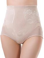 Femme Sexy Jacquard Sous-vêtements Moulants Boxer Short-Nylon / Spandex