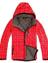 Hiking Softshell Jacket Men's Thermal / Warm / Windproof / Ultraviolet Resistant / Wearable / Comfortable /
