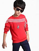 Boy Casual/Daily Striped Hoodie & Sweatshirt,Cotton Winter Long Sleeve Regular