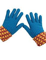 зимние моды кашемир шерсть утолщение MS. перчатки (синий пакет из двух пар)