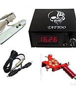 Professional Digital Tattoo Power ith Plug Cord Foot Switch One Machine