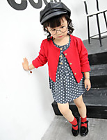 Girl's Going out Polka Dot Overall & Jumpsuit / Suit & BlazerCotton Spring / Fall Black
