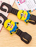 Multi - Function Cute Cartoon Car Hooks 2 Loaded With Backrest Car Seat Car Supplies