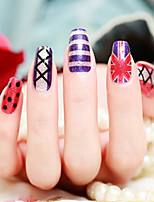 Fashion Waterproof Nail Stick  1Pcs