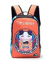 Спортивный На каждый день Для отдыха на природе Рюкзак Для мужчин Нейлон Синий Оранжевый