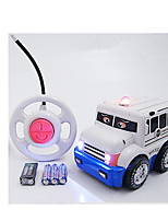 Car Racing 566-4A 110 Brush Electric RC Car / 2.4G Pink Ready-To-Go Remote Control Car