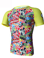 2016Men's Cycling Tops Short Sleeve Bike Spring / Summer / Autumn Breathable / Ultraviolet Resistant / Sweat-wicking