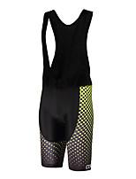 ספורטיבי מכנס קצר ביב לרכיבה יוניסקס נושם / ייבוש מהיר / עיצוב אנטומי / לביש / תומך זיעה אופנייםמכנסיים קצרים עם כתפיות / שורטים (מכנסיים