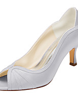 Women's Heels Spring / Summer Others Stretch Satin Wedding / Party & Evening Stiletto Heel OthersBlack / Pink / Red / Ivory / Silver /