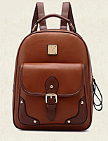 Women PU Casual Backpack Beige / Brown / Black / Khaki