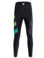 ספורטיבי מכנסי רכיבה לגבריםנושם / שמור על חום הגוף / ייבוש מהיר / עמיד / בטנת פליז / חדירות גבוהה לאוויר (מעל 15,000 גרם) / רכות / רך /