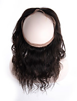 Brazilian Virgin Human Hair 360 Lace Frontal Closure Body Wave Full Lace Band Frontal Closure With Baby Hair