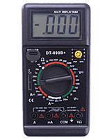 dt890b multímetro digital display digital de luz de fundo