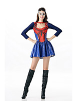 Cosplay Costumes Spider Movie Cosplay Solid Dress Halloween / Carnival Female Polyester