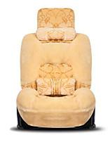 Car Cushion New Winter Plush All - Encompassing Four Seasons Universal Sets Of Seats Car Seat Cover Car Seat
