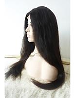 Sylvia бесклеевой синтетический парик фронта шнурка натуральный черный жаропрочные длинные прямые синтетические парики
